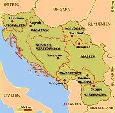 jugoslavien karta Slovensk historia jugoslavien karta